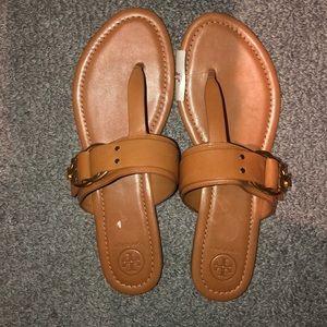 NEW!!! Tory Burch Tan Sandals